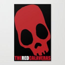 The Red Calaveras Canvas Print