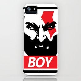 GOW Boy Obey iPhone Case