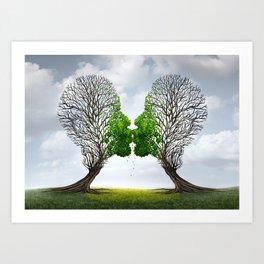 True Love VII Art Print