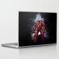 iron man Laptop & iPad Skins featuring IRON MAN iron man by alifart