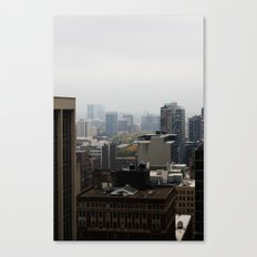 City Buildings Chicago Original Color Photo Canvas Print