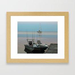 Florida fishing Framed Art Print