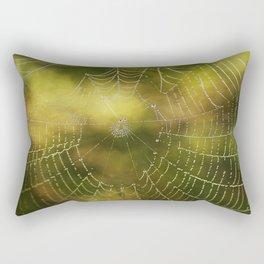 The Web we Weave Rectangular Pillow