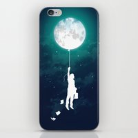 stars iPhone & iPod Skins featuring Burn the midnight oil  by Picomodi