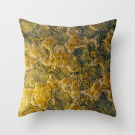 Abstract Studio 5 Throw Pillow