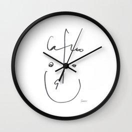 Demeter Moji d15 3-1 w Wall Clock