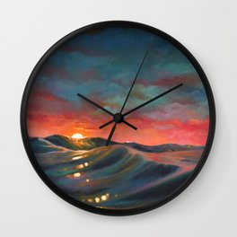 Before The Night Storm Wall Clock