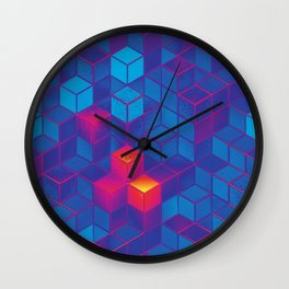 Cube City N.1 Wall Clock