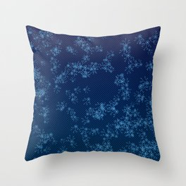Prime Hack Links - Dark Blue Throw Pillow