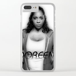 DOREEN ANDERSON Clear iPhone Case