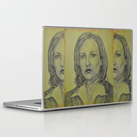 scully Laptop & iPad Skins featuring Scully by Jenn