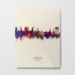 Auburn Alabama Skyline Metal Print