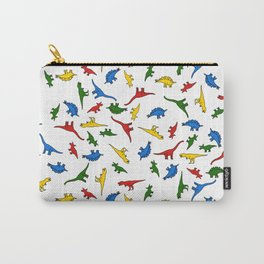 Technicolor Dino Friends Carry-All Pouch
