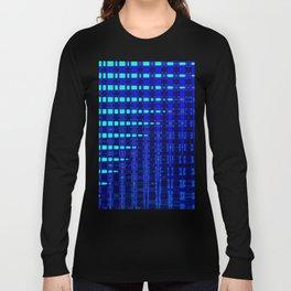 Blue in Shadows Long Sleeve T-shirt