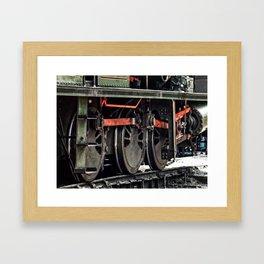 Workhorse At Rest Framed Art Print