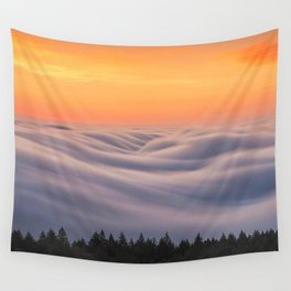 Mount Tamalpais State Park in California USA Wall Tapestry