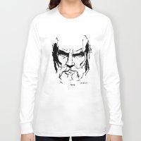 greek Long Sleeve T-shirts featuring Greek by Eddie Maurer