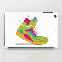 90s iPad Cases featuring 90s shoe / throwback by Mychal Diaz