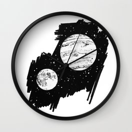Nothing and everything Wall Clock