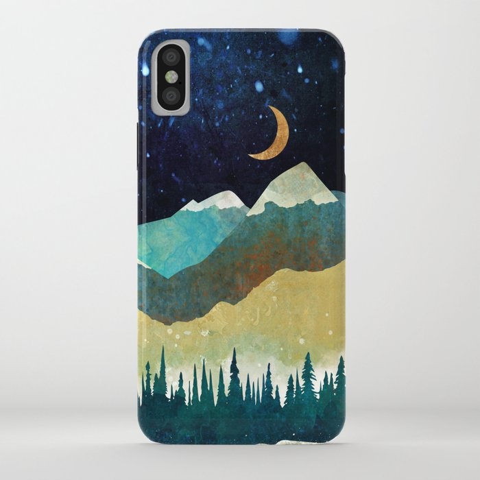 Snowy Night iPhone Case
