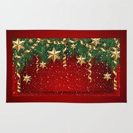Christmas shopwindow Rug