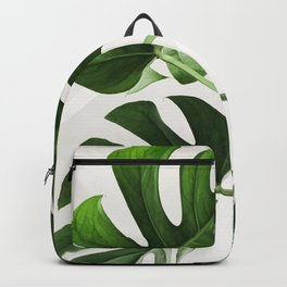 CloseUp Monstera Backpack