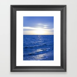 Heavenly Blues - Gagliano Photography - DreamScapes Framed Art Print