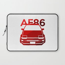 Toyota AE86 Hachi Roku - classic red - Laptop Sleeve