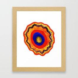 dervish Ethnic circle Framed Art Print