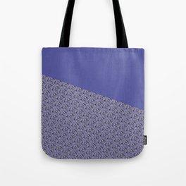 Purple Daisy pattern Tote Bag
