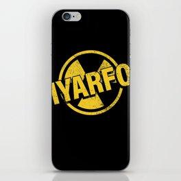 IYARFO Caution 2 iPhone Skin