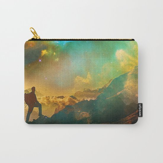 Vibrant Space Hiker Carry-All Pouch
