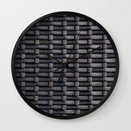 Woven Wall Clock