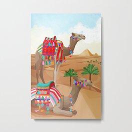 Desert Adventure Metal Print