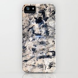 Accumulated Paint 2 iPhone Case