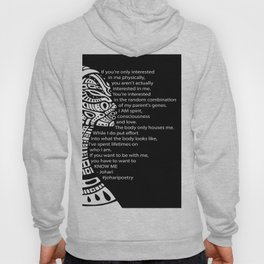If You Want To Be With Me Hoody