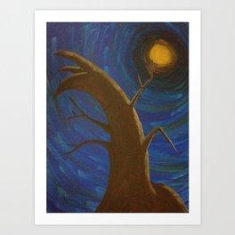 Moonworshiper Art Print