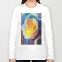 watercolour Long Sleeve T-shirts featuring WaterColour by MonsterBrown