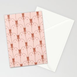 Kissing Eared Seal Pattern Stationery Cards