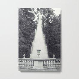Pyramid Fountain Metal Print