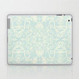 Pale Jade Tattoo - a pattern Laptop & iPad Skin