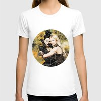 swan queen T-shirts featuring Swan Queen II by Geek World
