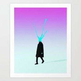 Slah Art Print