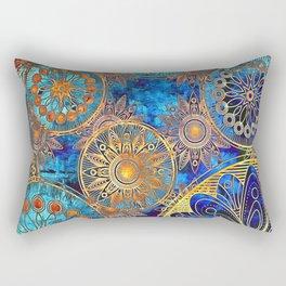 Goldflakes Rectangular Pillow