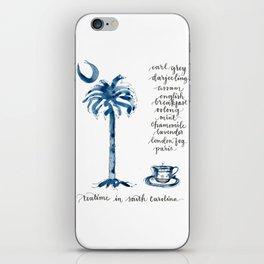 Teatime in South Carolina iPhone Skin