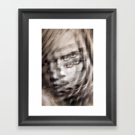 Compound Eyes See her Beauty Multiply Framed Art Print