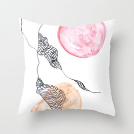 Scandi Micron Art Design | 170412 Telomere Healing 8 Throw Pillow