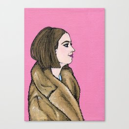 Margot Tenenbaum Canvas Print
