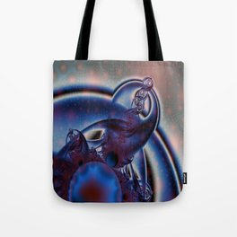 Fractal Universe Elephant God Tote Bag