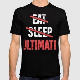 Eat, Sleep, Ultimate Frisbee T-shirt